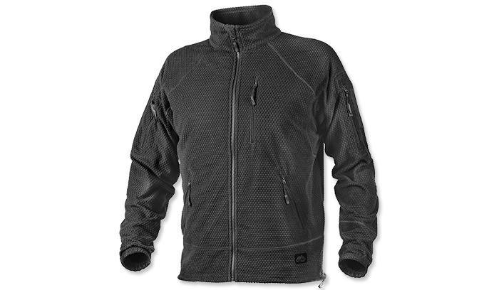 Кофта Helikon Alpha Tactical Grid Fleece Jacket Black S, M, L, XL, XXL (BL-ALT-FG-01)