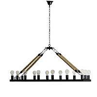 Светильник на цепи в стиле Лофт SW-0422/1 BK