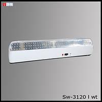 Светильник аккумуляторный SW-3120L WT