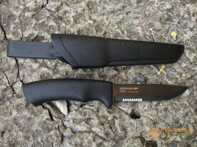 Нож mora BushCraft BLACK SRT 124188 / 12417