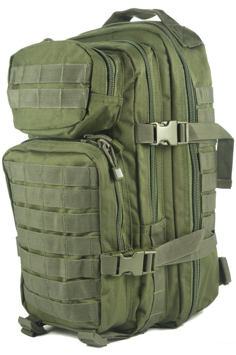 Штурмовой (тактический) рюкзак ASSAULT S Mil-Tec by Sturm Olive 20 л. 14002001