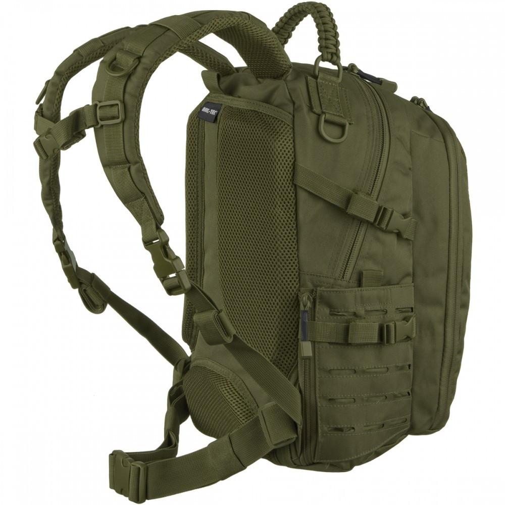 Тактический рюкзак Mil-Tec LASER CUT MISSION PACK SMALL Olive 20 л. 14046001