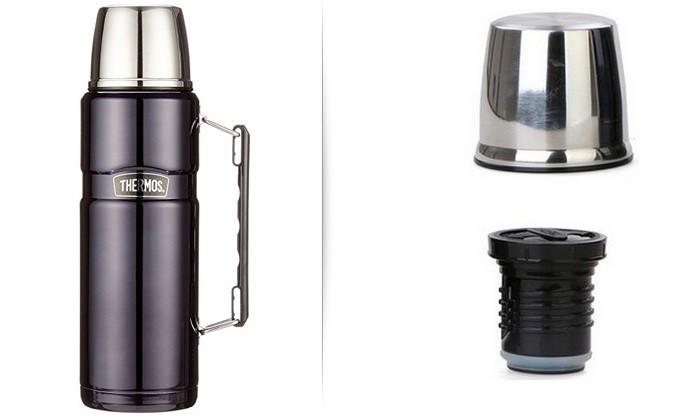 Термос фирмы Термос (Thermos) с чашкой 1,2 л Stainless King Flask (170020)