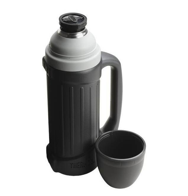 Термос фирмы Термос (Thermos) с чашкой 1 л Hercules Stainless Steel Flask (150040)