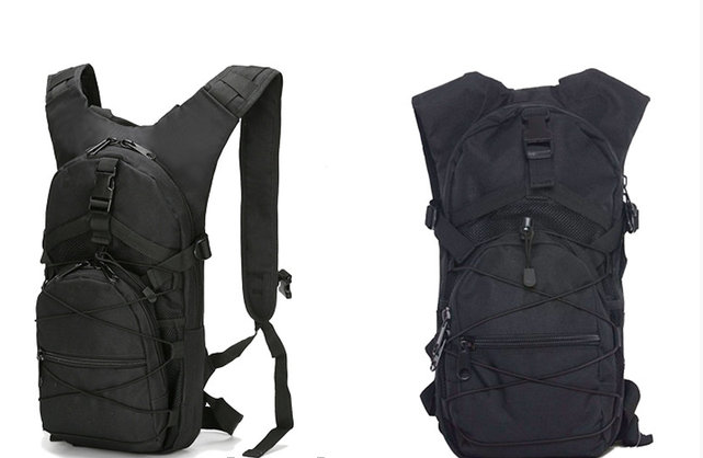 Тактический (городской) рюкзак Oxford 600D с системой M.O.L.L.E Black 303 (черный)