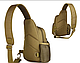 Тактическая, штурмовая, военная, универсальная, городская сумка на 5-6 литров с системой M.O.L.L.E coyote (s4), фото 3