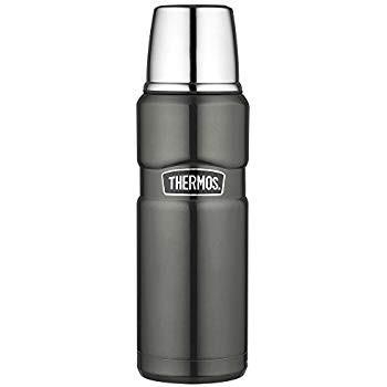 Термос 0.47л Thermos Stainless King Flask Gun Metal 170014