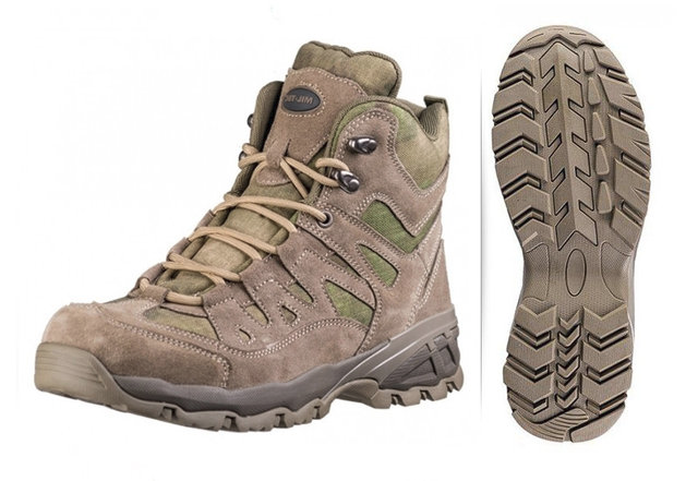 Ботинки MIL-TEC SQUAD 5 INCH A-TACS FG® (12824059)