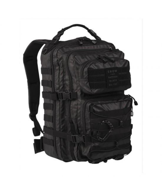 Mil-Tec Рюкзак US Assault PACK LG TACTICAL BLACK 36л (14002288)