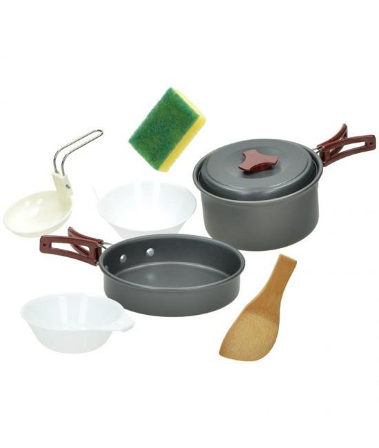Набір Алюмінієвого Посуду Для 2 Осіб Mil-Tec (14651000)
