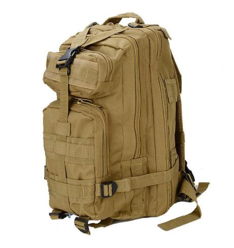 Тактический (городской) рюкзак Oxford 600D с системой M.O.L.L.E koyot (ta25)