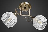 Люстра двойка античная бронза AR-004709
