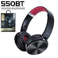 Беспроводные Bluetooth наушники гарнитура + поддержка MicroSD + FM Радио Black