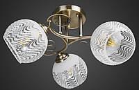Люстра тройка античная бронза AR-004710