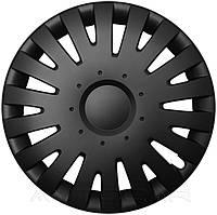 Колпаки колесные MALACHIT радиус R13 4шт Olszewski Черный