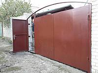 """Ворота с калиткой 4,5х2,0 """"под ключ"""", фото 1"""