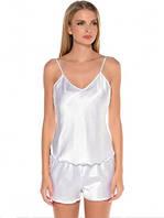 Пижама Stereotip Пижама (майка + шорты) Stereotip ПЖ1 S Белый SKU_ПЖ1-15331