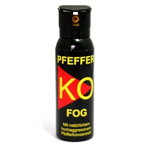 Газовый баллончик Mil-Tec PFEFFER-KO FOG Аэрозольный 100 мл 16223100