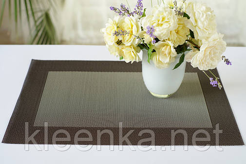 Салфетка виниловая под тарелки  30см*45см ,серветка,подложка,кафе, рестораны, фото 2