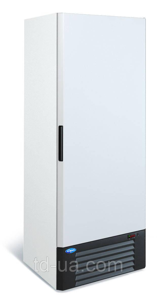Холодильный шкаф Капри 0,7УМ  (метал.дверь)