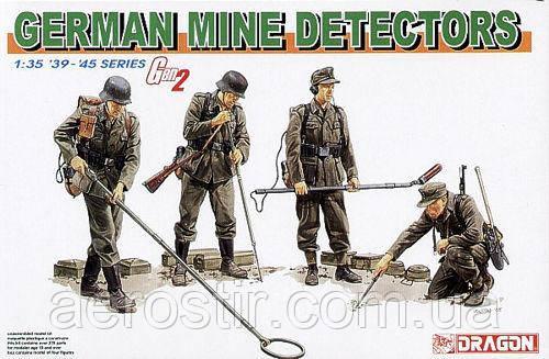 German mine detectors.1/35  Dragon 6280