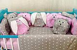 """Детское постельное белье в кроватку """"Лесные звери"""", фото 8"""