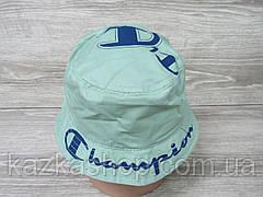 Стильная мужская котоновая панама, панамка, вышивка и накат в стиле Champion (реплика), размер 57-58, фото 3