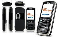 Корпус для Nokia 6233, с клавиатурой, черный, оригинал