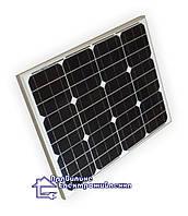 Сонячний фотомодуль Perlight PLM-050M/12 50вт, 12в, фото 1