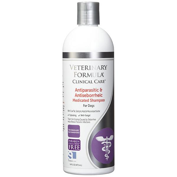 Veterinary Formula Clinical Care Antiparasitic & Antiseborrheic Medicated Shampoo ВЕТЕРИНАРНАЯ ФОРМУЛА