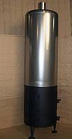 """Бойлер-буржуйка """"Титан"""" з нержавіючої сталі на 80 л."""