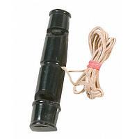 Flamingo Horn ФЛАМИНГО свисток для собак горн буйвола, 2-х тональный, со шнурком большой | 8,7х2,2 см