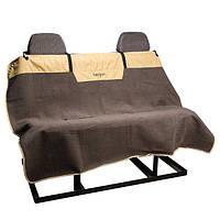 Bergan Microfiber Auto Bench Seat Protector БЕРГАН МИКРОФИБРА АВТО накидка для перевозки собак на задних сидениях автомобиля бежевый