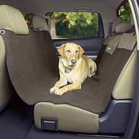 Bergan Deluxe Microfiber Auto Seat Protector БЕРГАН ДЕЛЮКС МИКРОФИБРА ГАМАК подстилка для собак в автомобиль на задние сидения бежевый