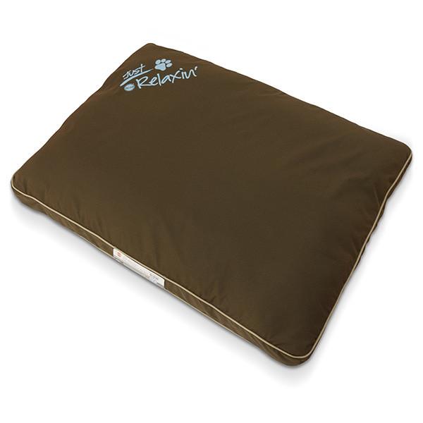 K&H Just Relaxin` лежак для собак шоколадный | L | 91,44x121,92 см