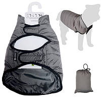Flamingo Coat Eden ФЛАМИНГО попона защитная одежда для собак серый | 50 см