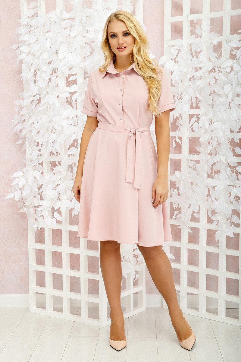 Платье клеш с 46 по 56 размер