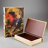 "Книга-шкатулка ""Небеса"" (22*7*33 см) комплект из 2 шкатулок (0899KSH)"
