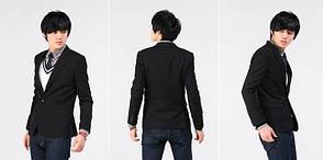 Пиджак черный на мальчика, фото 2