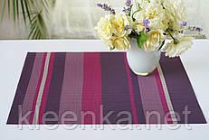 Салфетка, яркая оригинальная, сет на стол под посуду   30см*45см, серветка водонепроникна