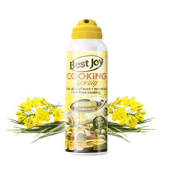 Кулинарный спрей Best Joy Cooking Spray 100% рапсовое масло 250 ml