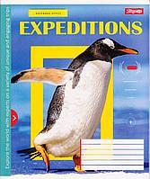 """Тетрадь школьная 96 л.клетка """"Expeditions"""" 762846, фото 1"""