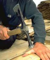 Кровельні, фасадні та інтерєрні роботи, з шинделя, дранки, гонту, деревяної черепиці.