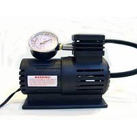 Автомобильный компрессор насос с манометром 250psi 10-12Amp 25л / воздушный компрессор 12В