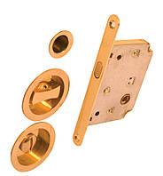 Комплект для раздвижных дверей RDA 4120 ВР полированная латунь (11643)