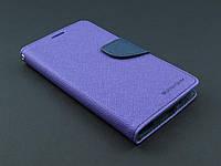 Чехол книжка Goospery для LG Optimus G3 Stylus D690 фиолетовый