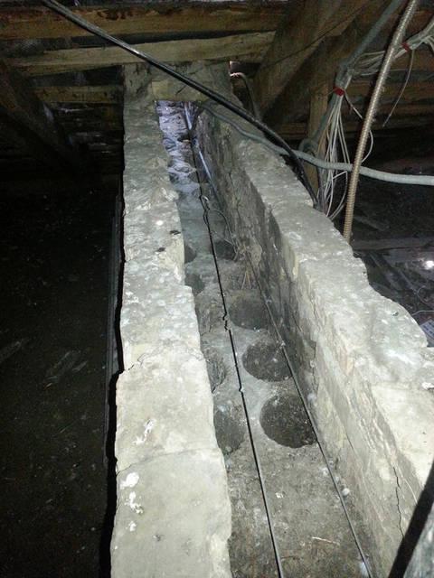 Вентиляционная шахта 5-ти этажного дома.