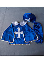 Детский карнавальный костюм Bonita Мушкетёр №2 105 - 120 см Синий