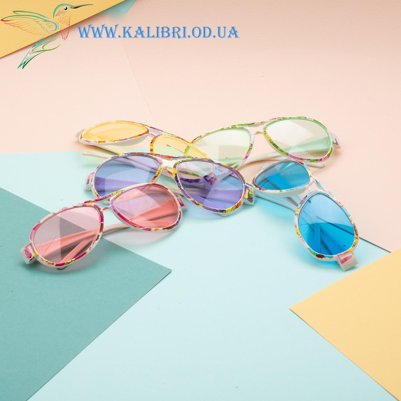"""Дитячі сонцезахисні окуляри """"Крапельки"""""""