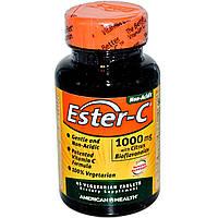 Витамин С (Vitamin C)  Эстер С биофлавоноиды American Health 1000 мг 45 таблеток